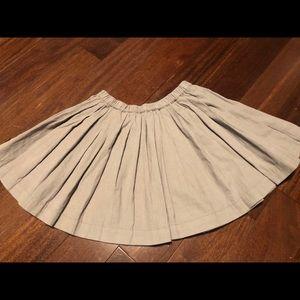 Girl's light corduroy mini skirt by Peek
